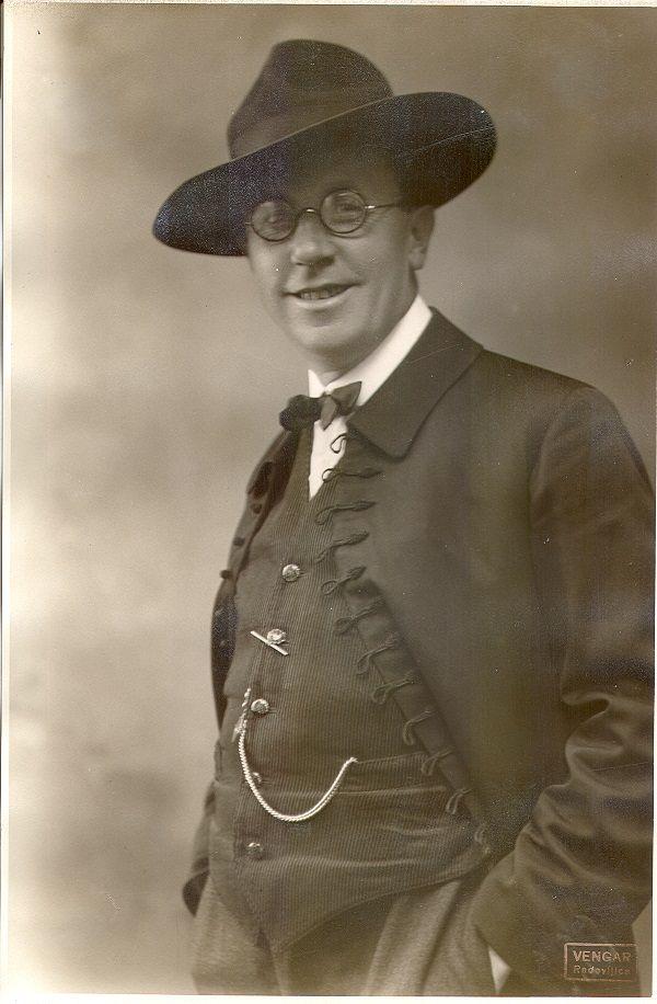Špicar Jakob v letu 1924_10_portret