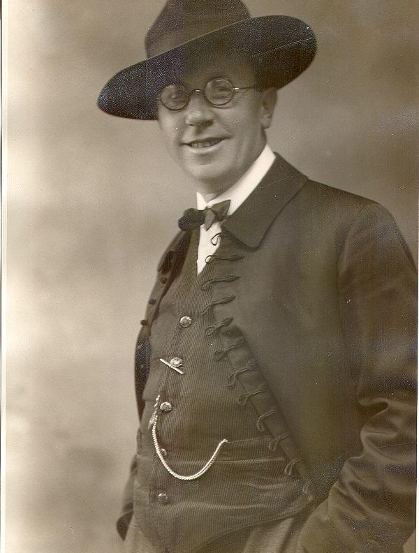 Portret Jakoba Špicarja leta 1924
