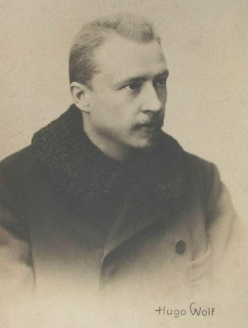 Hugo Wolf, portret
